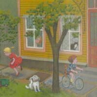 "Tõnu Seero. ""Tubli lapse juturaamat"", Tiritamm, 2007, kriitpastell"