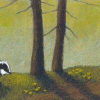 """Tiia Toomet. """"Kus on kodu?"""", TEA Kirjastus, 2007, õlipastell"""