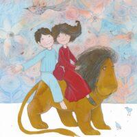 """Aimée Beekman. """"Unenägude lõvi"""", TEA Kirjastus, 2010, akvarell, pliiats"""