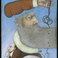 Illustration, mixed media