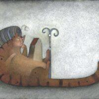 Merike Vardja, Kaider Vardja. Windnests: A Literature Textbook for 5th Grade, Koolibri, 2006, mixed media