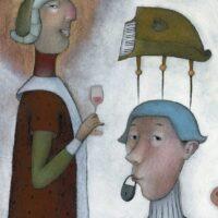 The Big Book of Fables, Avita, 2006, mixed media
