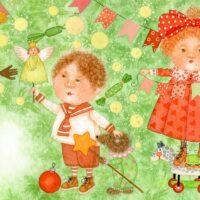 Marina Druzhinina. The Winter's Tale/New Year, 2011, watercolour