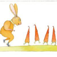 """Piret Raud. """"Härra Linnu lugu"""", 2009, tušš, akvarell"""