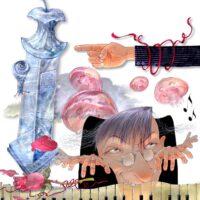 """Ott Arder. """"Millimallikas"""", 2008, segatehnika"""