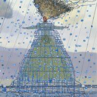 """Vennad Grimmid. """"Rapuntsel"""", 2012 segatehnika"""