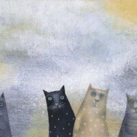 Iko Maran. But So Many Cats, TEA, 2012, acrylic