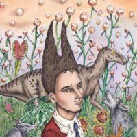 Dino Buzzati. The Creation, Orecchio Acerbo, 2015, lead pencil, watercolour