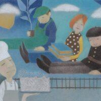 "Triin Soomets. ""Unerong"", 2013, värvilpliiats"