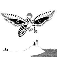 Jonas Taul. A Serious Thought, Draakon & Kuu, 2016, ink