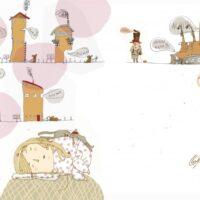 Gianni Rodari. Telephone Tales, Tänapäev, 2015, drawing pen, digital treatment