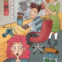 """Kairi Look. """"Peeter, sõpradele Peetrike"""", Tänapäev, 2014, harilik pliiats, arvutitöötlus"""